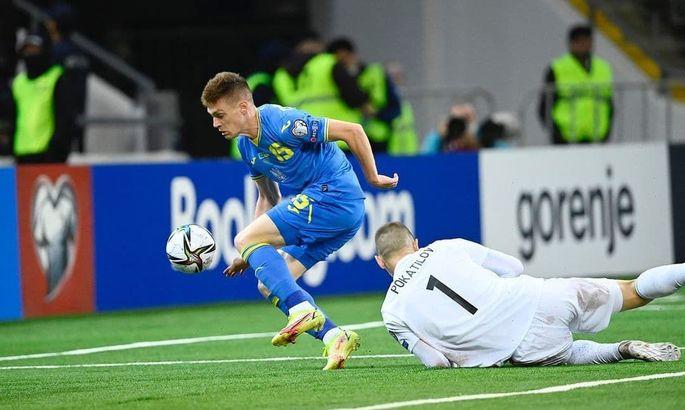 Луческу: Очікував, що в старті на Казахстан вийде Циганков - у нього хороший період в клубі