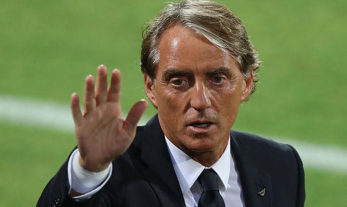 """""""М'яч не хотів йти у ворота"""". Манчіні пояснив паритет між Італією та Болгарією"""