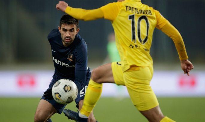 Днепр-1 и Александрия сыграли вничью в товарищеском матче