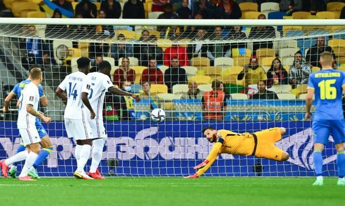 Украина - Франция 1:1. Видео голов и обзор матча