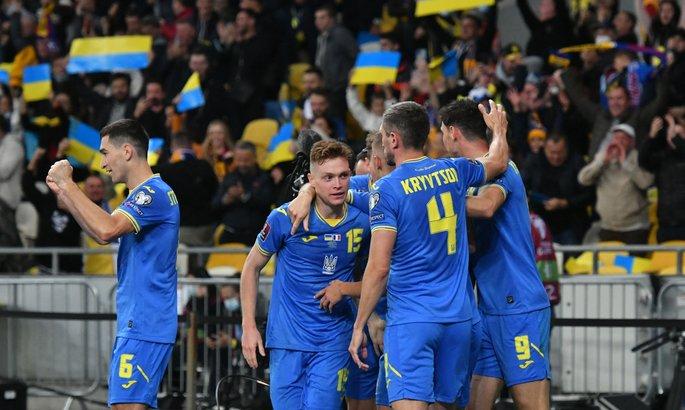Украина – Франция 1:1. Равный бой с чемпионами мира
