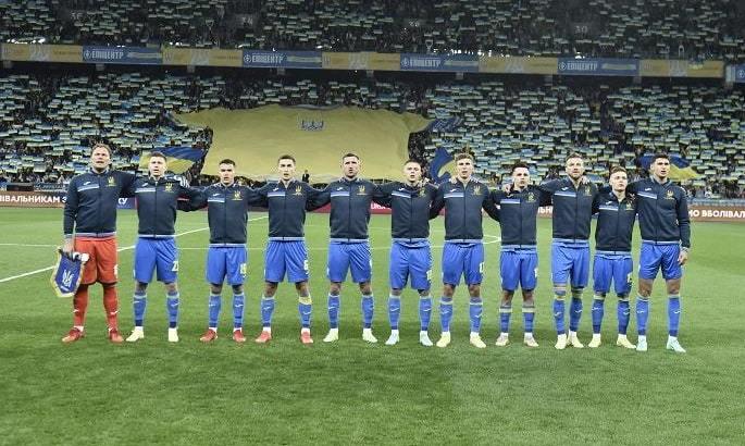 Сборная Украины повторила рекорд по ничьим подряд в отборе на международные первенства