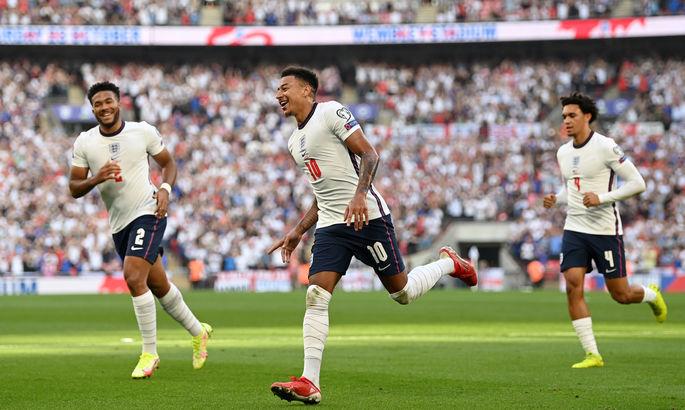 Отбор ЧМ-2022. Англия забила четыре гола Андорре, Албания дожала Венгрию