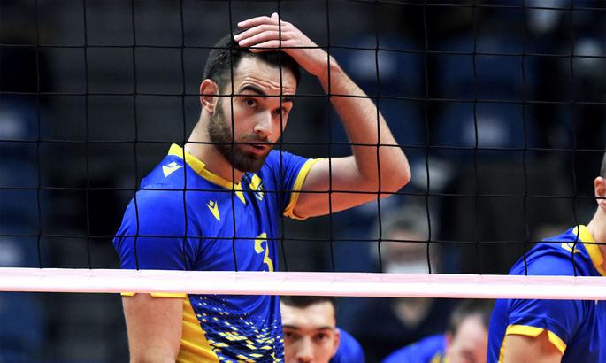 Украина на нервах обыграла Португалию на волейбольном Евро