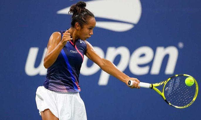 Свитолина в 1/4 финала US Open сыграет с 18-летней канадкой