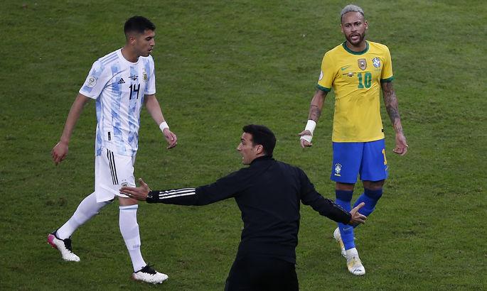 Тренер сборной Аргентины: Нам ни разу не сообщили, что эти футболисты не могут сыграть с Бразилией