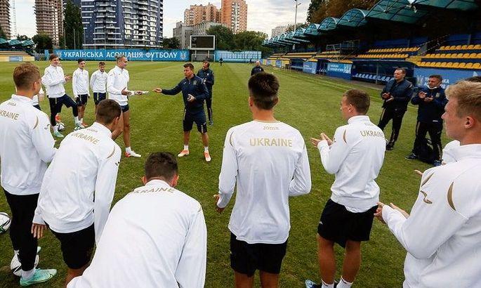 Украинская молодежка начала подготовку к матчам с Францией и Фарерскими островами