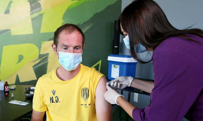 Тренери академії львівського Руху вакцинувалися відCOVID-19