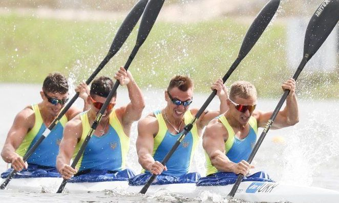 Украинские гребцы добыли историческое золото на чемпионате мира