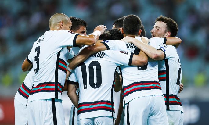 Два Силвы и Жота компенсируют Роналду. Португалия без проблем обыгрывает Азербайджан