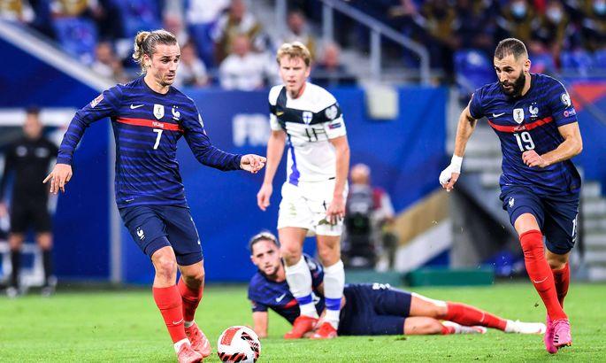 Франция - Финляндия 2:0. Шоу Антуана Гризманна