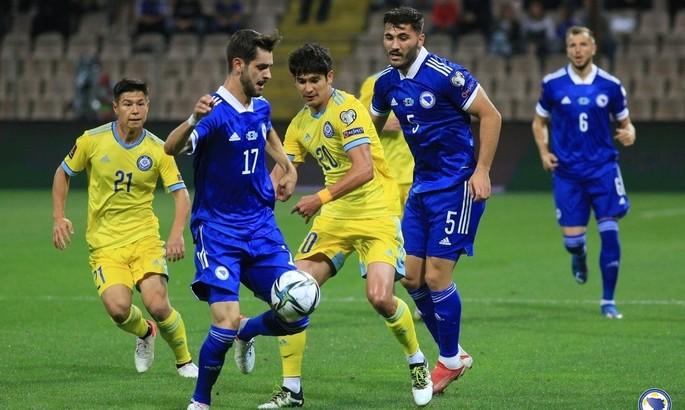 ВІДЕО, як Казахстан вкрав у Боснії та Герцеговини перемогу голом зі штрафного на 90+5-й