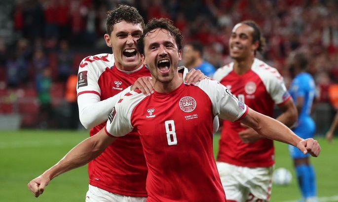 Друзья Ольсена очки не теряют и мячи не пропускают. Дания – Израиль 5:0. Обзор матча и видео голов