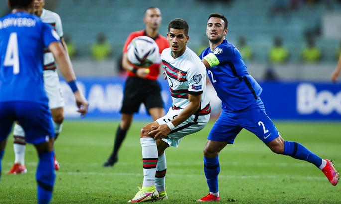 Португалия без Роналду трижды огорчила Азербайджан. Видео голов и обзор матча