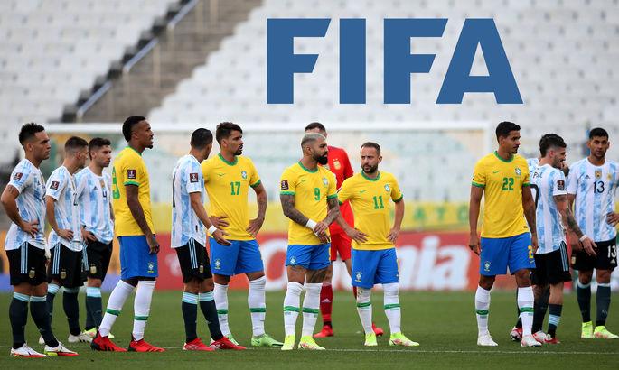 У ФІФА відкрили дисциплінарну справу після скасування матчу між Бразилією та Аргентиною