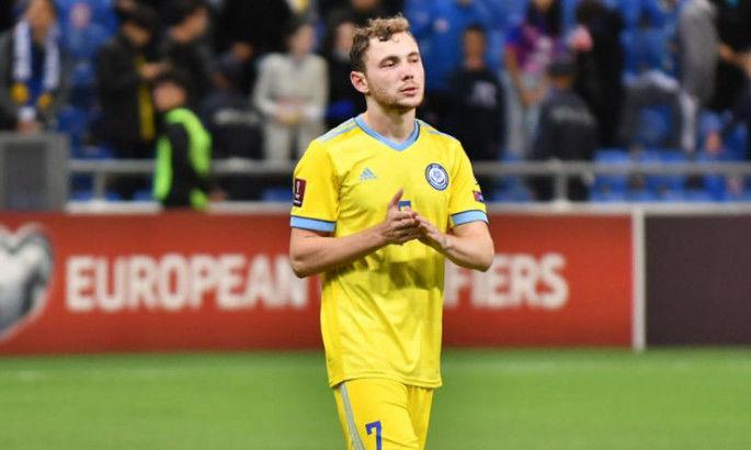 Источник: Форвард Казахстана, который сделал дубль в ворота Украины, провалил допинг-тест