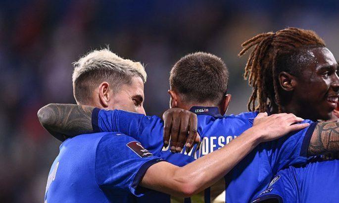 Именно ослабленный состав Италии прорвало - 5:0 над Литвой