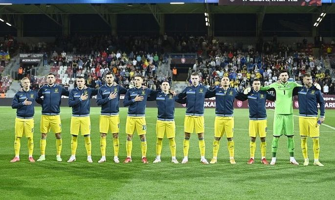 Сборная Украины поднялась на одну позицию в рейтинге ФИФА