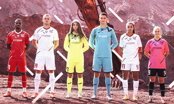 ВИДЕО как на Марсе. Кривбасс эффектно представил форму - футболисты позировали в карьере