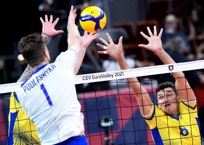 Украина в бою проиграла России в 1/8 финала чемпионата Европы по волейболу. Как это было - изображение 1