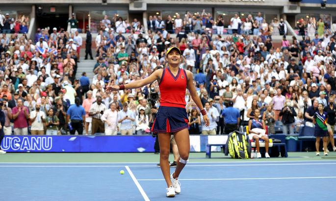 Британская сенсация: топ-5 ударов Радукану на US Open. ВИДЕО