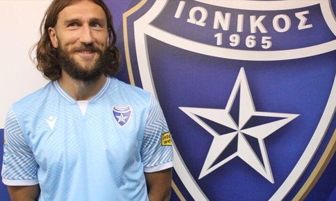 Чигринський дебютував за Іонікос проти свого колишнього клубу