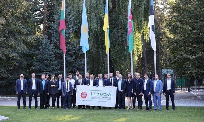 Павелко, Каденко и Дикий в Молдове обсудили популяризацию массового футбола