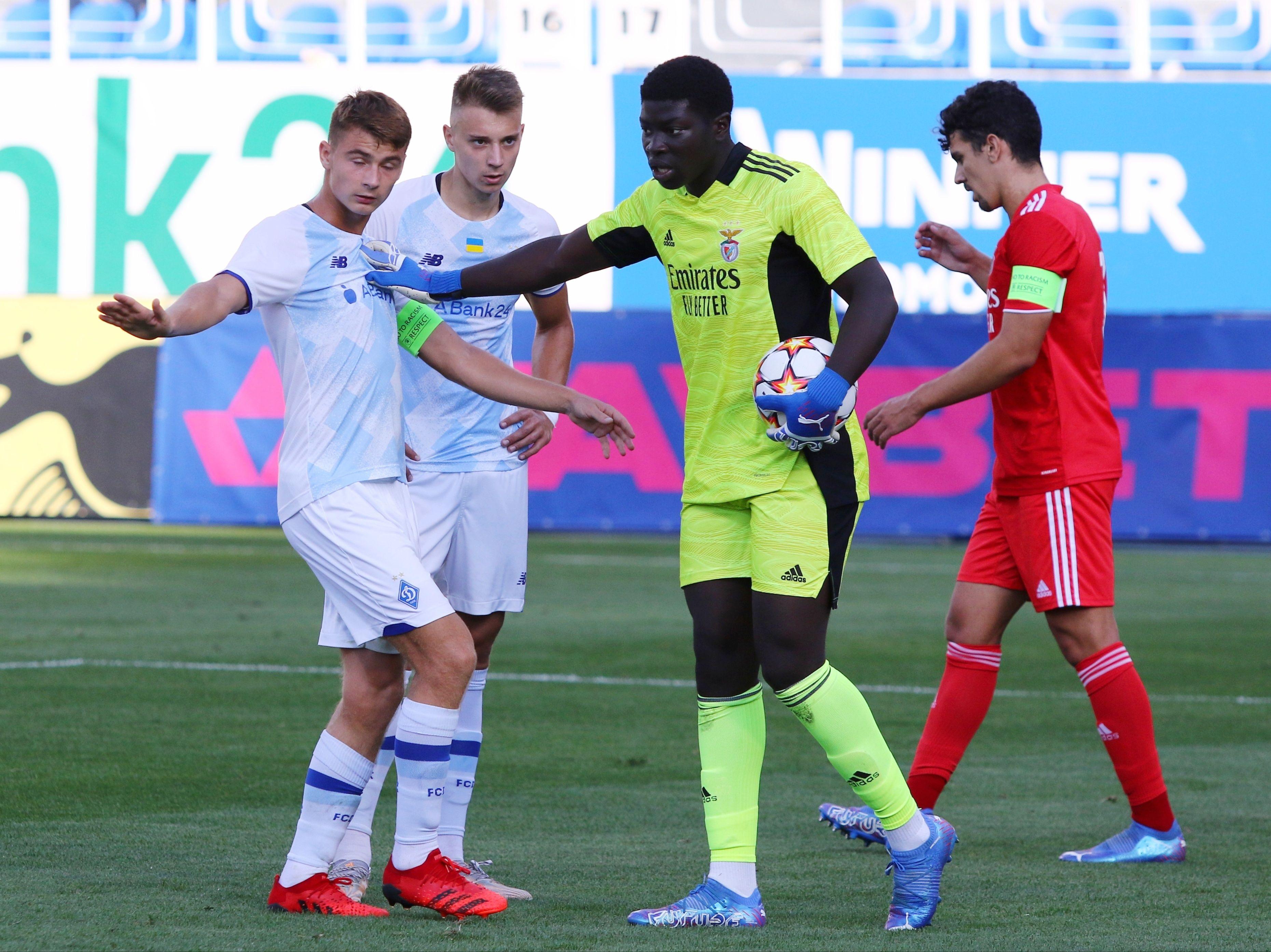Відмінний старт! ФОТО репортаж з матчу Юнацької ліги УЄФА Динамо - Бенфіка 4:0 - фото 20