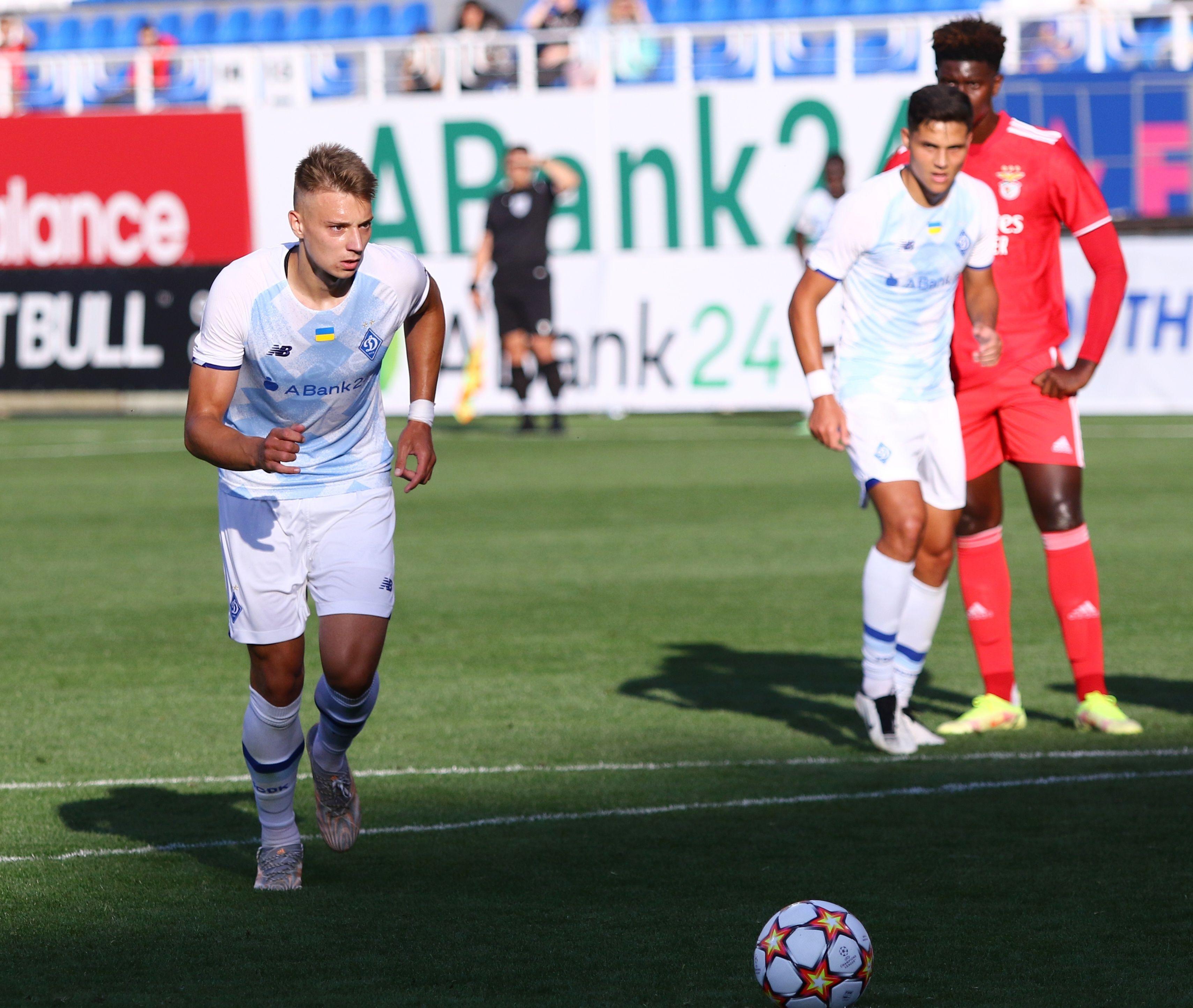Отличный старт! ФОТО репортаж с матча Юношеской лиги УЕФА Динамо - Бенфика 4:0 - фото 21