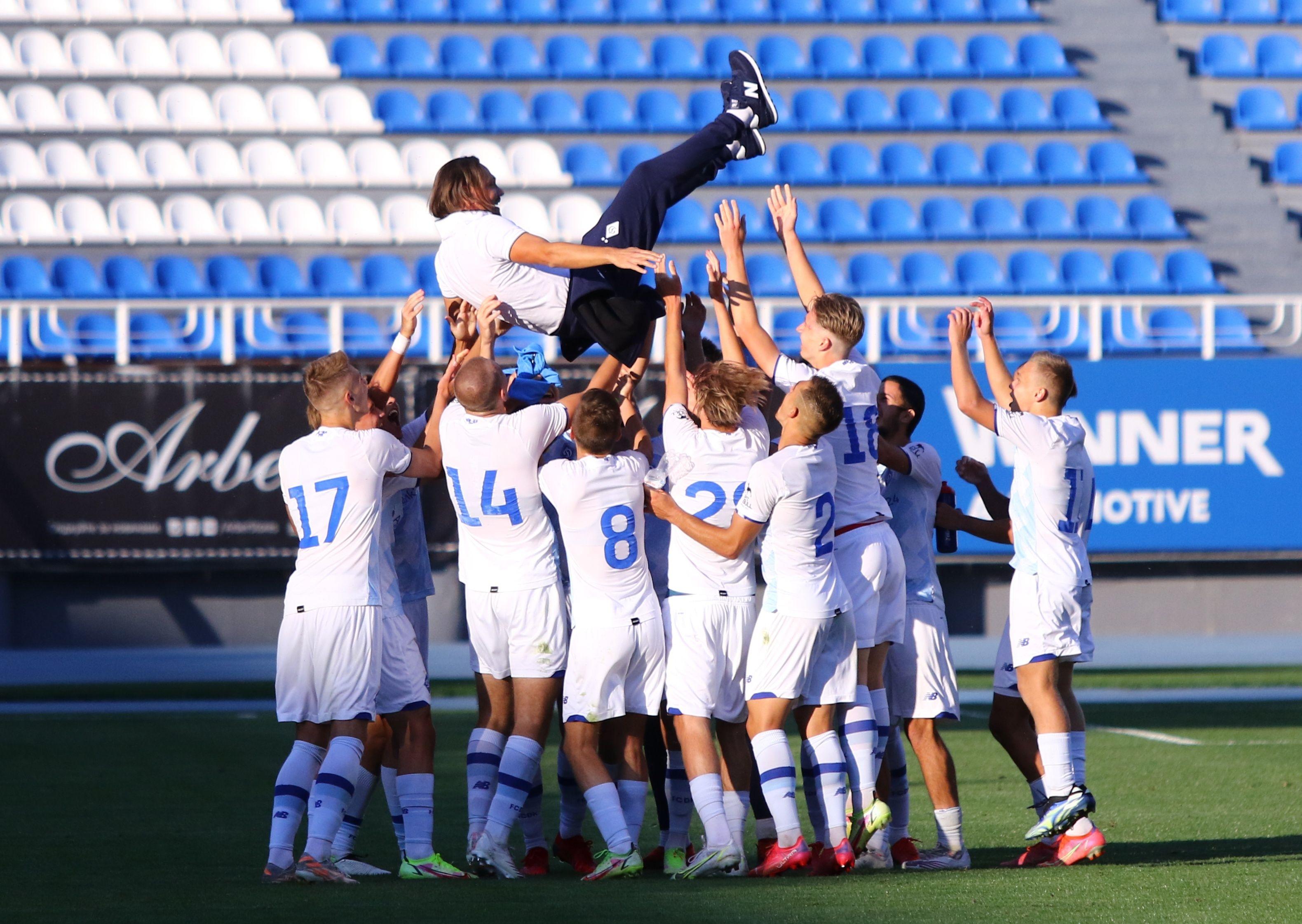 Відмінний старт! ФОТО репортаж з матчу Юнацької ліги УЄФА Динамо - Бенфіка 4:0 - фото 29