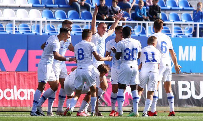 Можно было и выигрывать. Динамо U-19 сыграло в сухую ничью со сверстниками из Барселоны