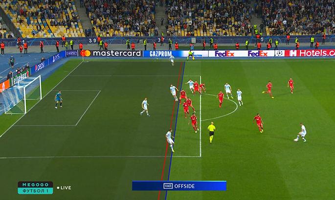Победы не случилось. ВАР отменил гол Шапаренко на последней минуте матча Динамо – Бенфика - изображение 1