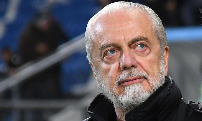 """""""Готов внести 10 миллиардов евро"""". Президент Наполи предложил создать новый турнир вместо ЛЧ и ЛЕ"""