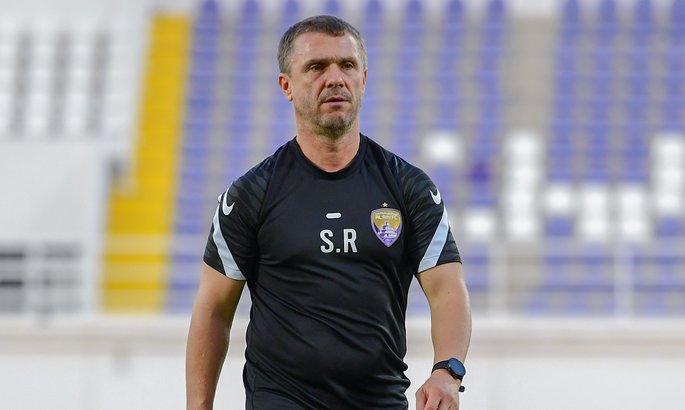 Сергій Ребров - найкращий тренер чемпіонату ОАЕ в серпні