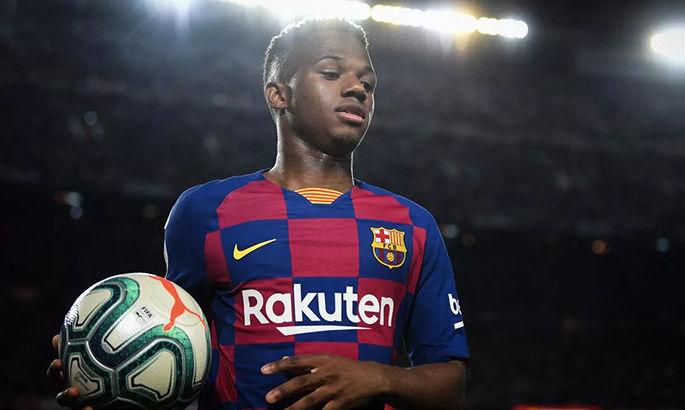 Мендеш почав з Барселоною перемовини, щодо нового контракту Фаті