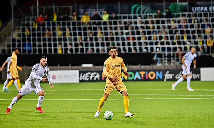 1:0. Будё-Глимт открыл счет в матче с Зарёй – Видео