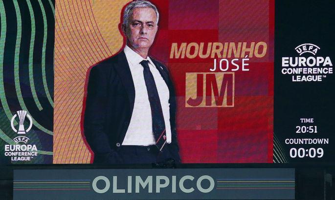 Моуринью недоволен игрой своей команды после разгромной победы – Рома при Жозе еще не проигрывала