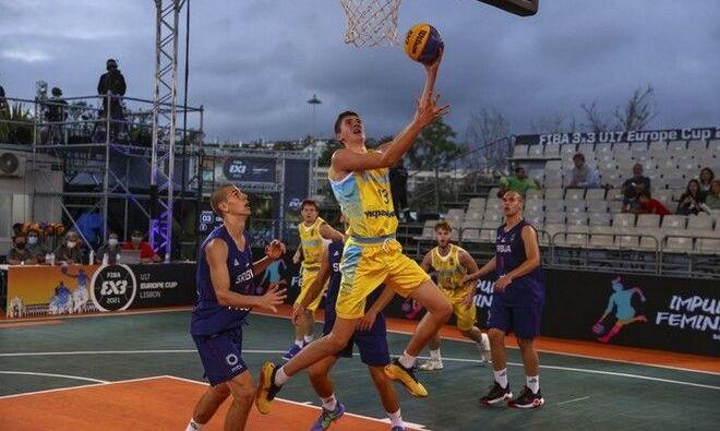 Україна знищила Росію на Чемпіонаті Європи з баскетболу 3×3