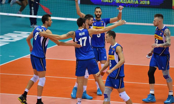 Волейбол. Італія та Словенія розіграють звання чемпіона Європи