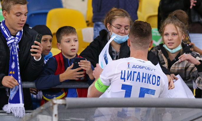 Герой футбольного дня. Віктор Циганков