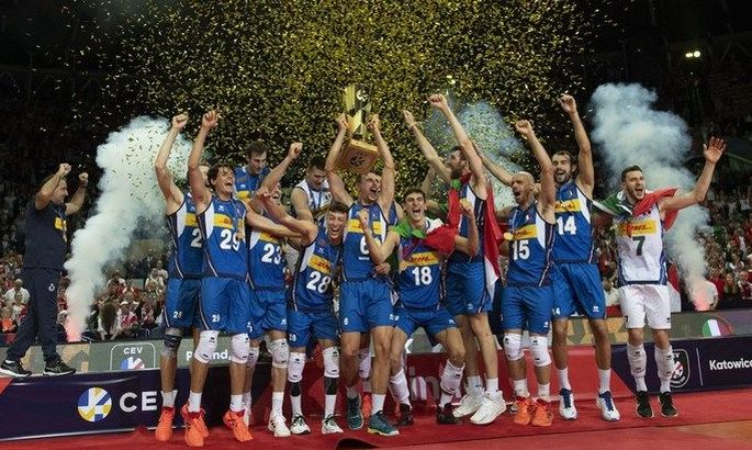 Італія вперше за 16 років виграла чемпіонат Європи з волейболу