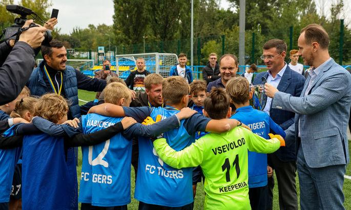 В Броварах відбувся дитячий турнір пам'яті відомого футбольного мецената Федора Шпига