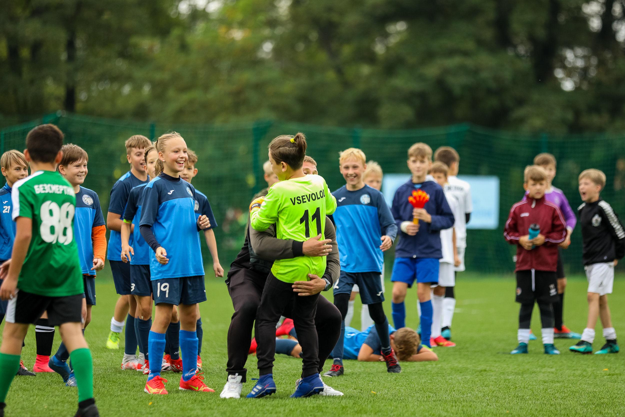 В Броварах відбувся дитячий турнір пам'яті відомого футбольного мецената Федора Шпига - фото 5