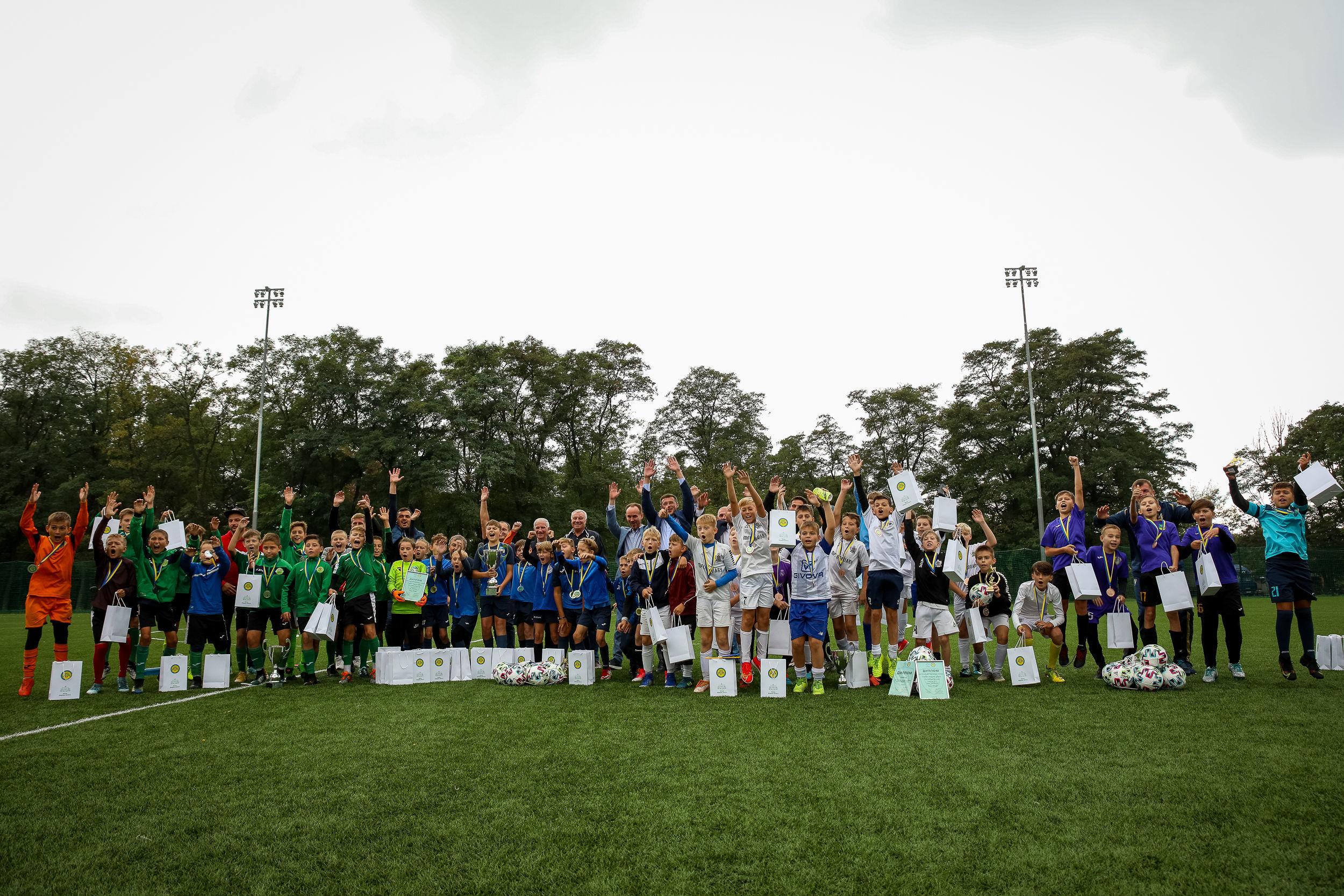 В Броварах відбувся дитячий турнір пам'яті відомого футбольного мецената Федора Шпига - фото 1