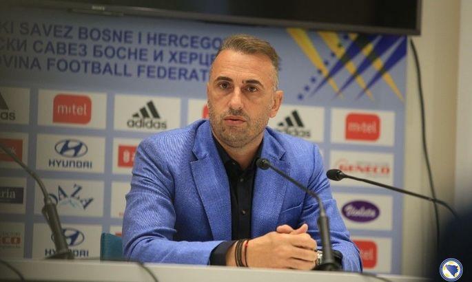 Тренер Боснії і Герцеговини: Було б здорово набрати шість очок з Казахстаном і Україною