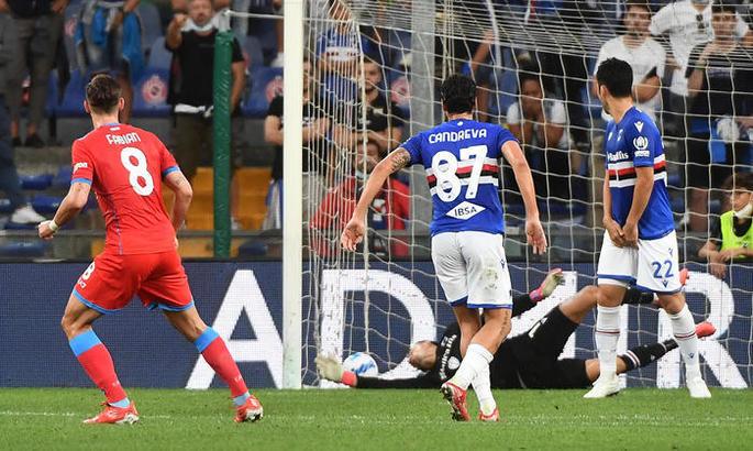 Серія А. Наполі нестримний - знову 4:0 в гостях, Лаціо ледве рятується, Рома ледве перемагає