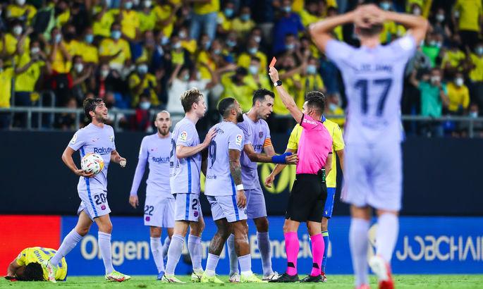 Прімера. Кадіс - Барселона 0:0. Коли залишилася лише назва