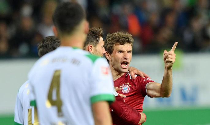 Только удаление испортило карты лидерам. Гройтер Фюрт - Бавария 1:3. Видео голов и обзор матча