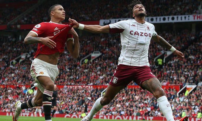 Следующее пенальти бьет Роналду. Ман Юнайтед - Астон Вилла 0:1. Видео гола и обзор матча