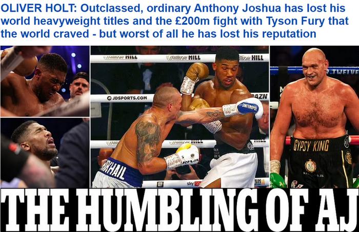 """""""Джошуа потерял свою репутацию"""". Что пишут британские СМИ о триумфе Усика в Лондоне? - изображение 1"""